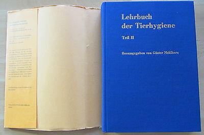 DDR Lehrbuch Tierhygiene Mehlhorn Tierkörperbeseitigung Zoo Wildtiere Transport 2