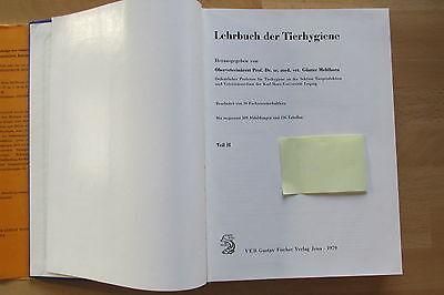 DDR Lehrbuch Tierhygiene Mehlhorn Tierkörperbeseitigung Zoo Wildtiere Transport 3