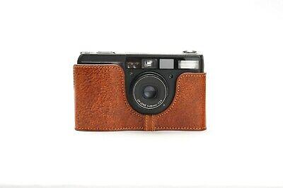 Genuine Real Leather Half Camera Case Bag Cover for Ricoh GR1V Film Camera 2