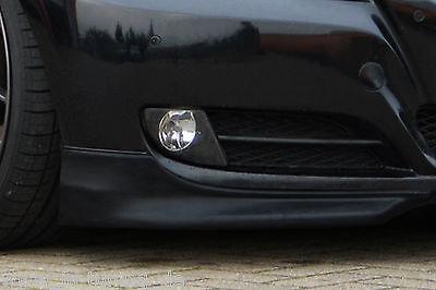 Sonderaktion Frontspoiler Flaps Frontansatz aus ABS BMW E90 E91 3er 08-11