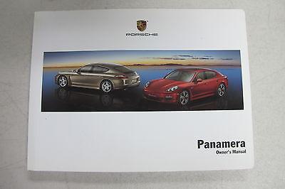 genuine 2011 porsche panamera owner s manual warranty and customer rh picclick com porsche panamera owners manual 2017 porsche panamera repair manual