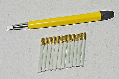 Glasfaser Reinigungs Stift 4 mm (12 Ersatzpinsel) 3