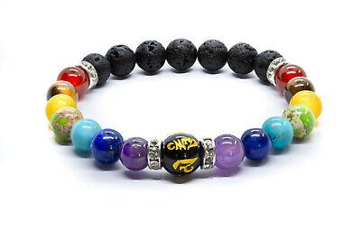 7 Chakra Crystal Stones Bracelet. Healing Beads Jewellery. Mala Reiki anxiety 3