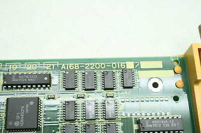 GE FANUC AXES Control Board A16B-2200-016 Graphic CPU MMC Interface