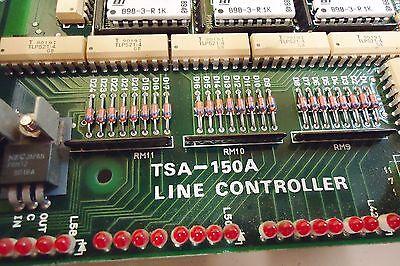 Fuji Tsa-150(Tsa-150-1) Line Controller Circuit Board W/ Tsa-200A D/a Module-11 2