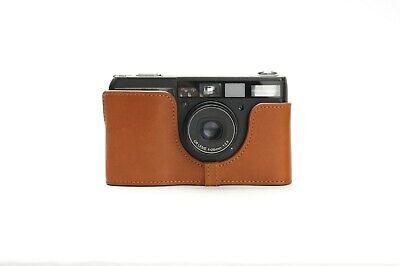 Genuine Real Leather Half Camera Case Bag Cover for Ricoh GR1V Film Camera 4