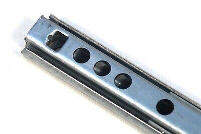 1 Stück Schubladenschienen Schubladenauszug Teleskopschienen Kugelauszug 17mm
