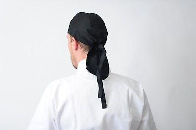 chef bandana ties and back protector head band Restaurant Work Wear Hat zandana 2