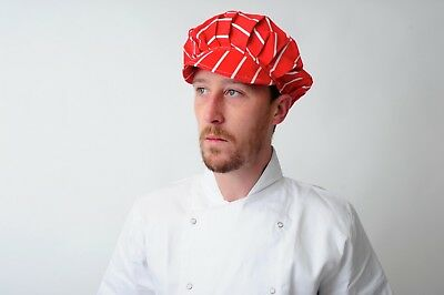Baker Caps Black White Catering Hats for Chef Bouffant CAP in many colours 6