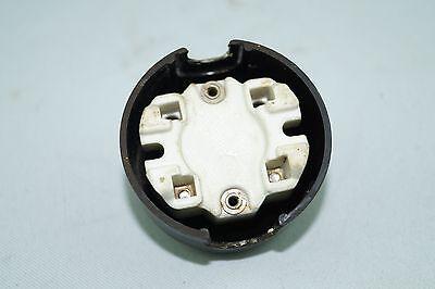 Alter Bakelit Drehschalter mit Schlüssel Aufputz Lichtschalter AP Schalter Loft