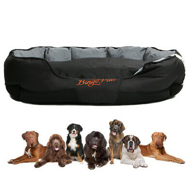 XXL Extra Large Jumbo Orthopedic Pet Dog Bed Dog Kennel Basket Pillow Waterproof 4