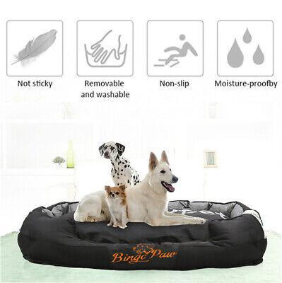 XXL Extra Large Jumbo Orthopedic Pet Dog Bed Dog Kennel Basket Pillow Waterproof 7