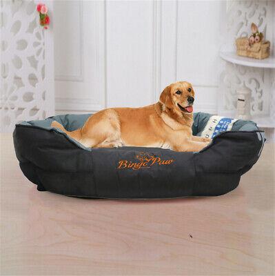 XXL Extra Large Jumbo Orthopedic Pet Dog Bed Dog Kennel Basket Pillow Waterproof 2