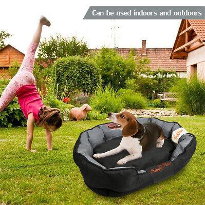 XXL Extra Large Jumbo Orthopedic Pet Dog Bed Dog Kennel Basket Pillow Waterproof 3