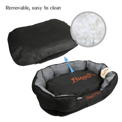XXL Extra Large Jumbo Orthopedic Pet Dog Bed Dog Kennel Basket Pillow Waterproof 10