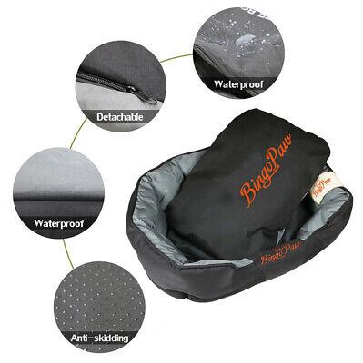 XXL Extra Large Jumbo Orthopedic Pet Dog Bed Dog Kennel Basket Pillow Waterproof 9