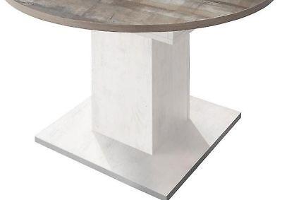 ... Eiche Geweißt Vintage Tisch NEU Küchentisch Ausziehbar Speisetisch  Esstisch 104 3