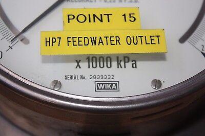WIKA 0 - 25000 kPa CALIBRATOR PRESSURE STANDARD test GAUGE 2