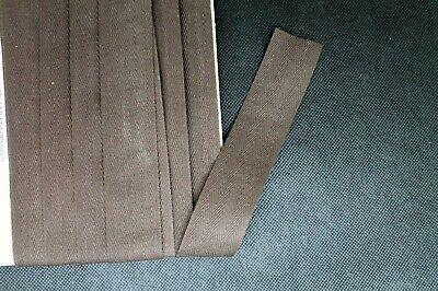Baumwollband Geradeband Braun 30 mm Nahtband Körperband 5 Meter