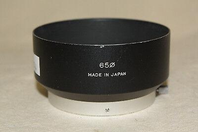 Fujica 65Mm Tele Lens Metal Clamp  On Lens Hood 6744