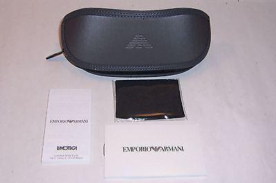 78c1c1b00f7 ... New Emporio Armani Sunglasses Ea 4058 506381 Black gray Polarized  Authentic 2