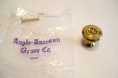 5 Reproduction Brass Drawer Knobs ! Inch Cabinet Cupboard 2