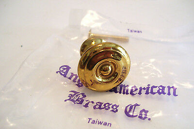 5 Reproduction Brass Drawer Knobs ! Inch Cabinet Cupboard 4
