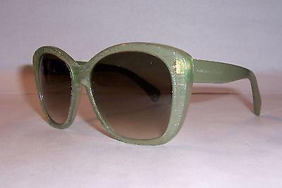 162b20e27c6 ... New Alexander Mcqueen Sunglasses Amq 4193 s Green brown K6H-Db  Authentic 4