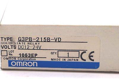 OMRON G3PB-215BVD 240V