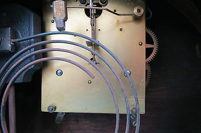 Vintage Kienzle Art Deco String Mantel Clock For Spares Or Repair 8