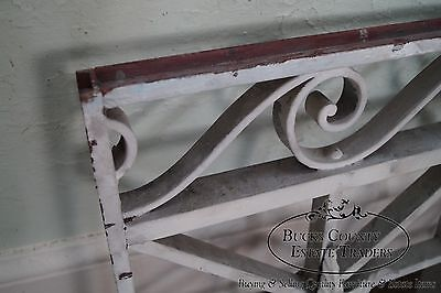 Antique Pair of Hand Wrought Iron Regency Style Wall Grates (B) 12