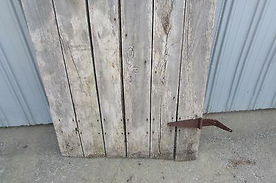 Antique Vintage Primitive Weathered Solid Wood Barn Door #S104 8