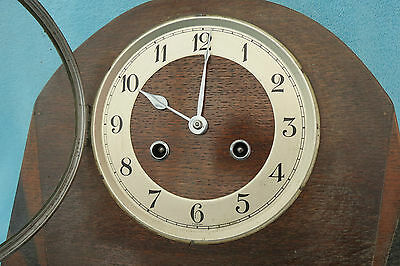 Vintage Kienzle Art Deco String Mantel Clock For Spares Or Repair 3