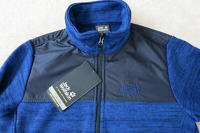 Jack Wolfskin Aquila Men Jacket outdoor Fleece trekking chaqueta Alloy 1704591-6038
