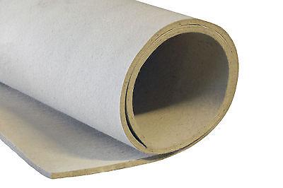 Wollfilz 2- 15 mm Weiß /Beige Filzmatte Filzplatte Industriefilz 3