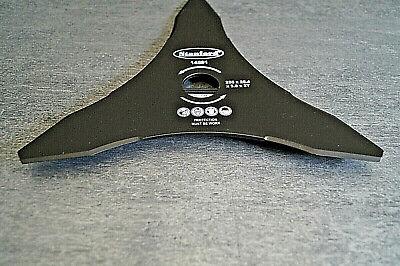 Messer 3 Zahn 255x25,4mm f Freischneider Motorsense Ersatzmesser Klinge 3 St