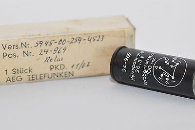 AEG-Telefunken Thermostat-Relais / Temperatur-Schalter / Thermal Relay, NOS