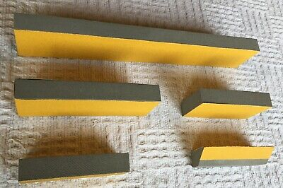 "Curve-Flex, 5 Piece -Professional Hand Sanding Block Kit 16.5"", 7.75"", 5.5"" blks 6"