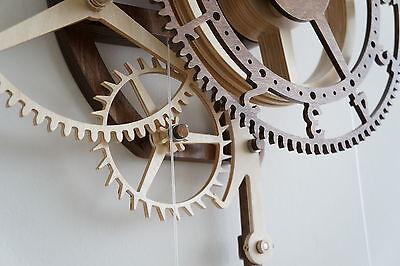 Orologio a pendolo in legno scatola in kit di montaggio for Bricolage legno