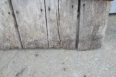 Antique Vintage Primitive Weathered Solid Wood Barn Door #S104 11