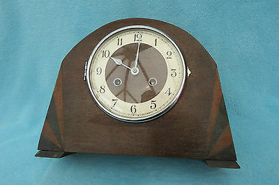 Vintage Kienzle Art Deco String Mantel Clock For Spares Or Repair 2