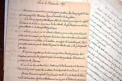 1815 Forc de Laboulaye Cultura Hon Epernay Explicación Politica Sur el Rey 2