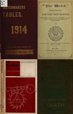 125 Rare Books On Horology, Pocket Watch, Clock, Sundial, Repair & More-Vol1 Dvd 5