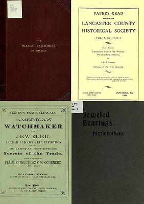 125 Rare Books On Horology, Pocket Watch, Clock, Sundial, Repair & More-Vol1 Dvd 9