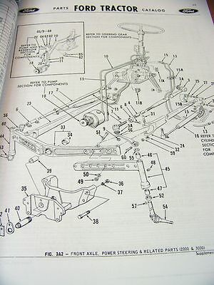 Ford 3500 Tractor Parts Diagram Solenoid For Ford 2000 Tractor ...