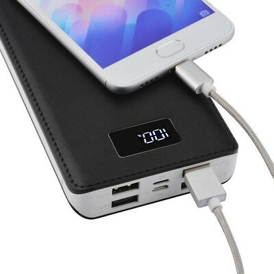 4 USB Fast Charging Greenest Portable Power Bank 500000mAh LED Battery Charger 6