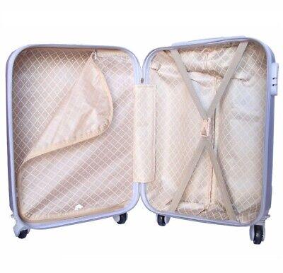 Juego de 3 maletas rigidas lisas de 4 ruedas giratoria 360 maleta MARIPOSAS 6