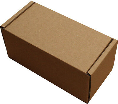 "8x4x4"" SHIPPING STORAGE BOXES CARDBOARD POSTAL MAILING GIFT PACKET SMALL PARCEL 5"