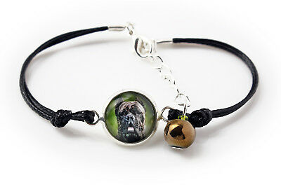 Cane Corso. Bracelet with box for people who love dogs. Photojewelry. UK 4