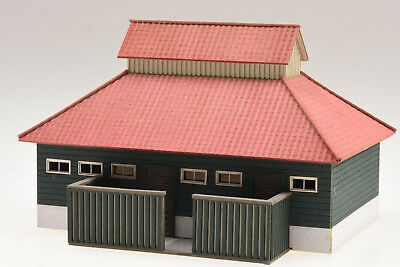 1820 Toilettengebäude für Bahnhof Schierke H0 Lasercut-Bausatz neu und OVP